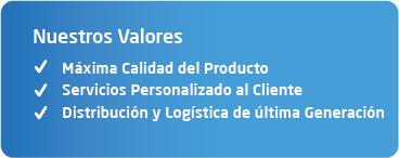 valores empresa distribuidora alimentos barcelona